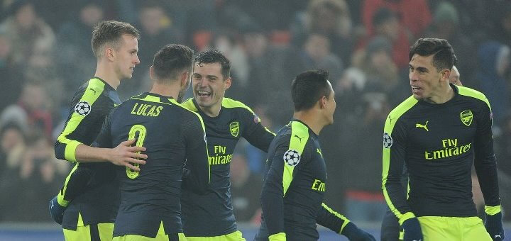 Arsenal In UCL