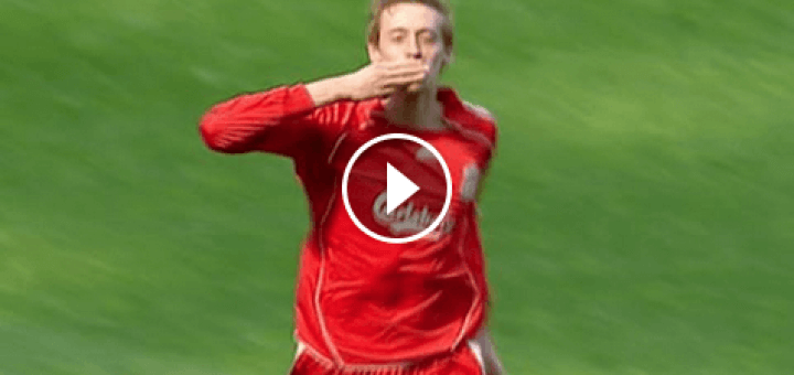 Peter Crouch Hatrick against Arsenal