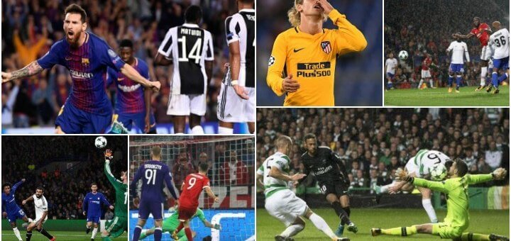 UCL 2017 - Match Day 1